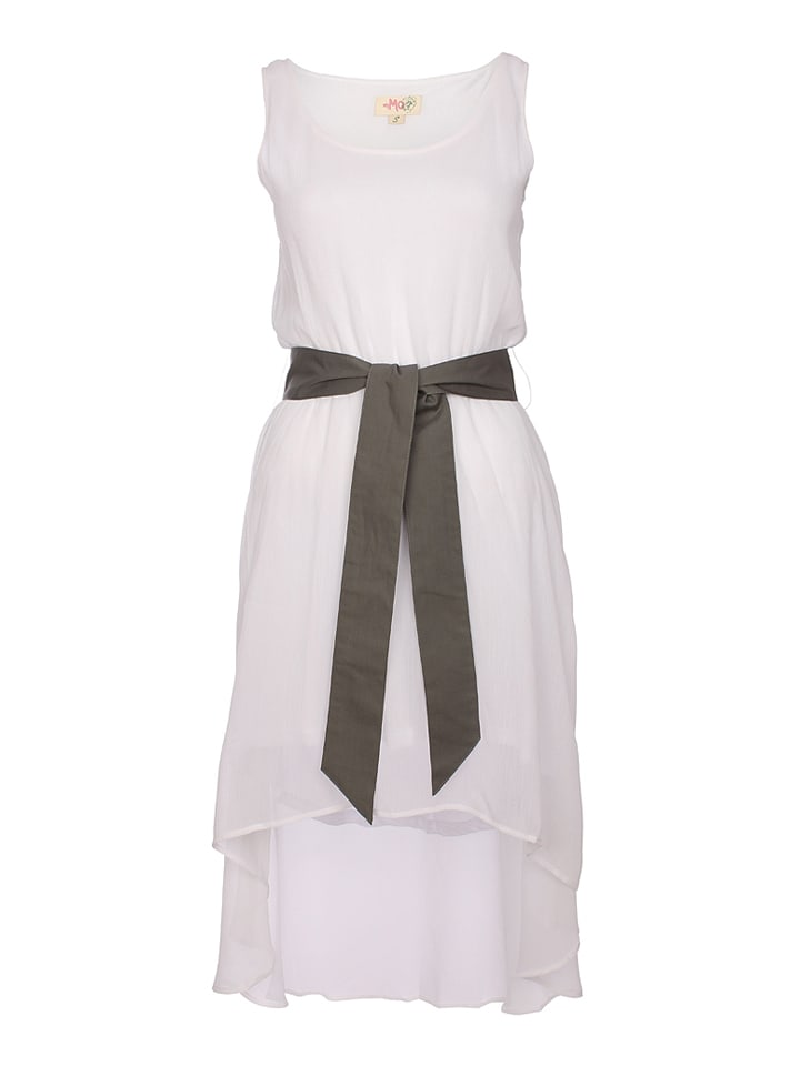 MyMo Kleid in Weiß