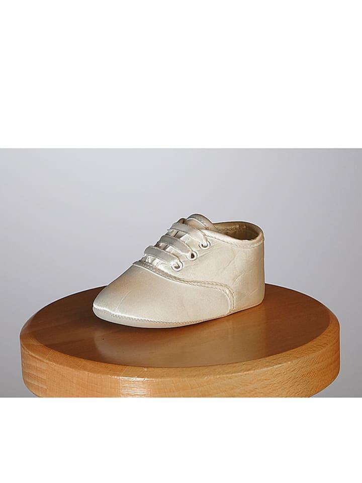 """Heritage Zijden schoenen """"Gideon"""" crème"""