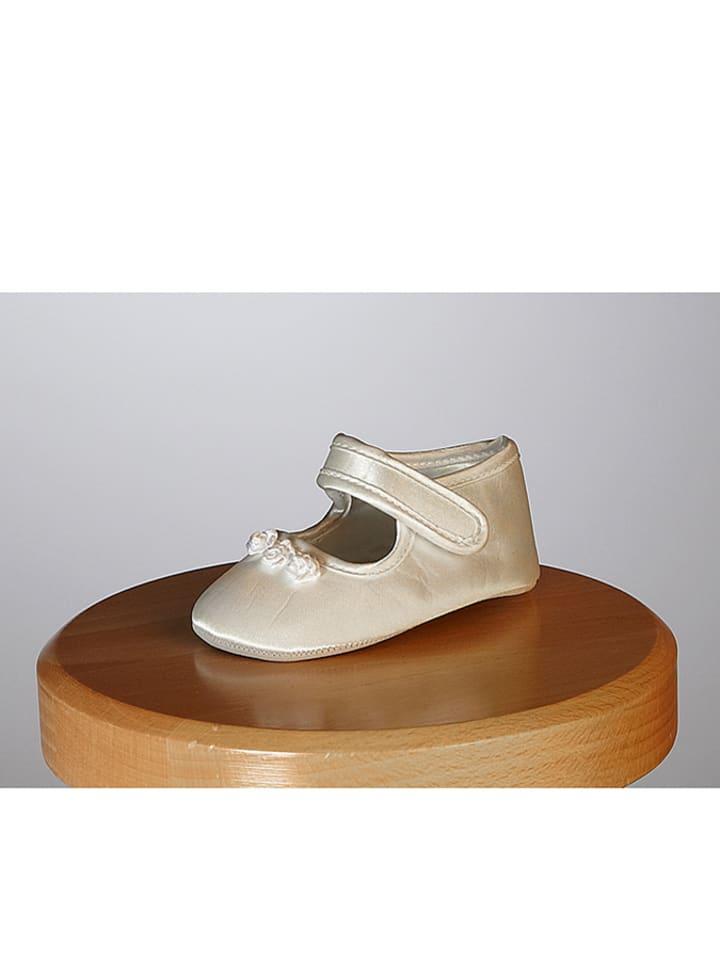 """Heritage Zijden schoenen """"Tianna"""" crème"""