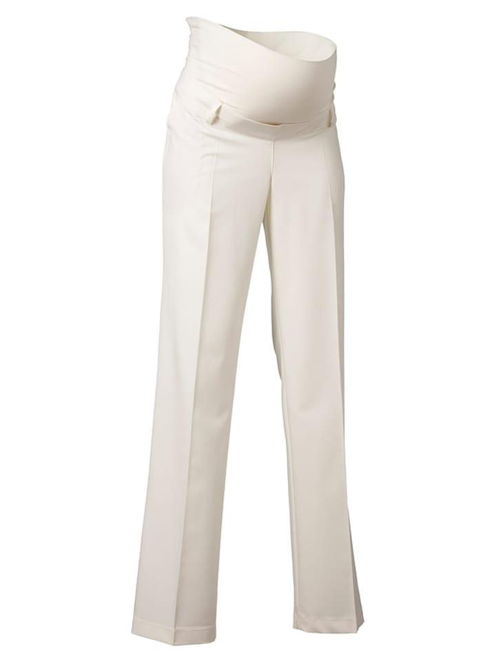 Noppies Spodnie w kolorze kremowym