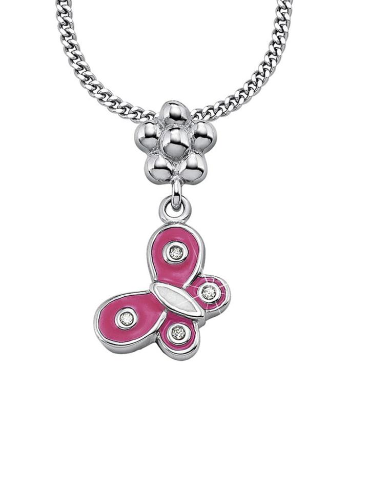 Lillifee Silber-Halskette mit Anhänger  - (L)39 cm