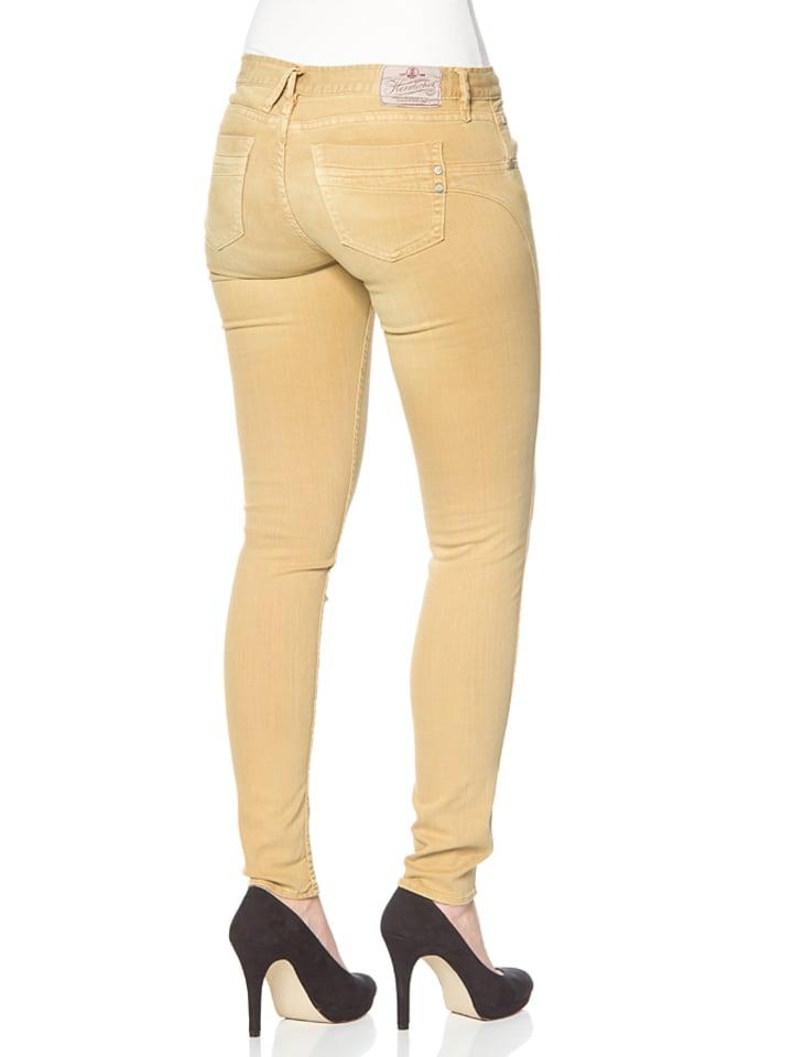 """Herrlicher Jeans """"Touch"""" - Slim fit - in Gelb"""