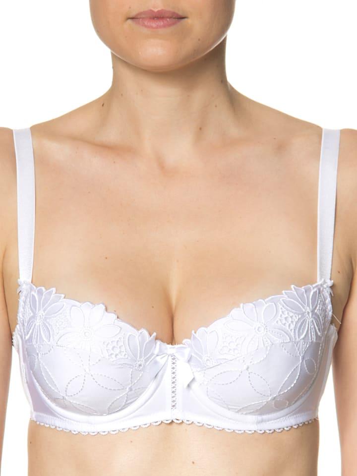 SUSA Balconette-BH in weiß