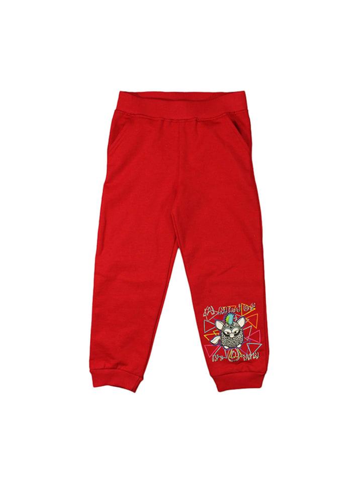 Disney Spodnie w kolorze czerwonym