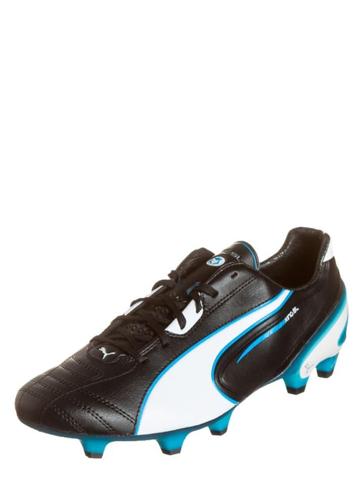 """Puma Voetbalschoenen """"King SL FG"""" zwart/turquoise"""