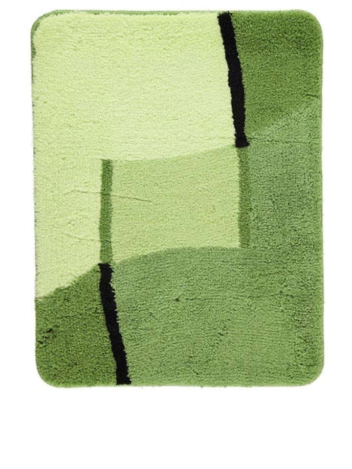 """Kleine Wolke Dywanik łazienkowy """"Ravenna"""" w kolorze zielonym"""
