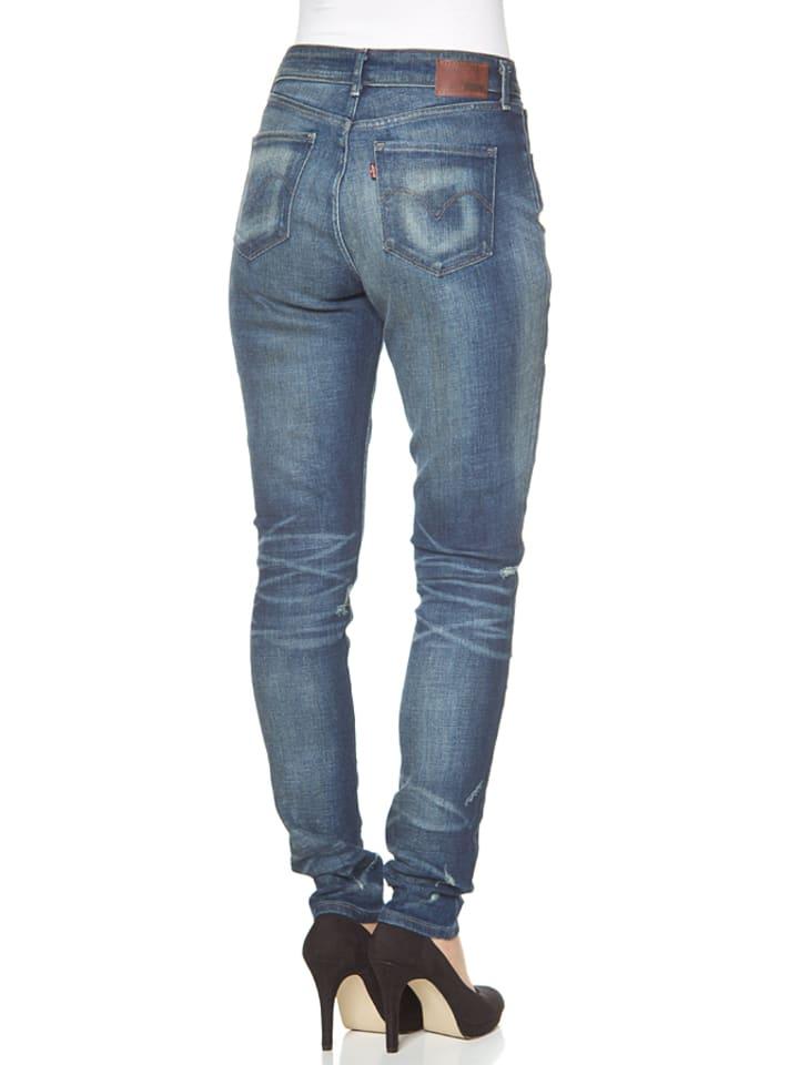 "Levi´s Jeans ""High Rise"" - Skinny fit - in Blau"