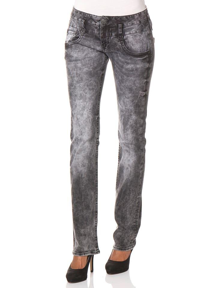 """Herrlicher Jeans """"Pitch"""" - Regular fit - in Schwarz/ Grau"""