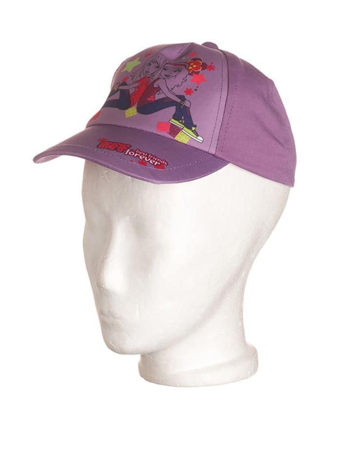 """Legowear Cap """"Albertine 301"""" in Flieder"""