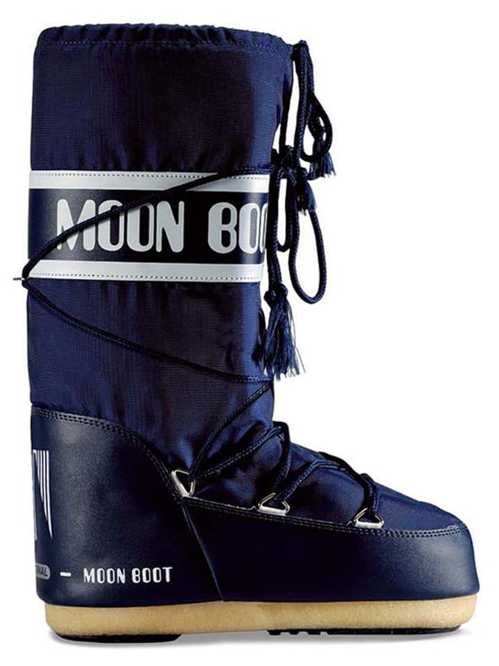 """Moon Boot Winterboots """"Nylon"""" in Dunkelblau"""