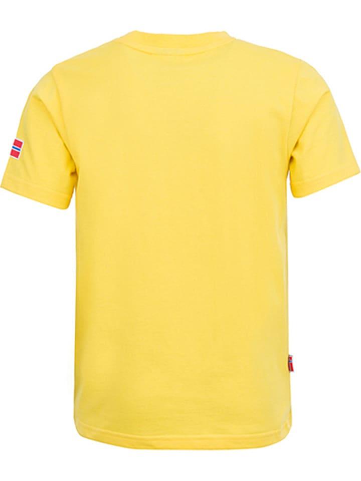 Trollkids Funktionsshirt Windrose in Gelb/ Bunt