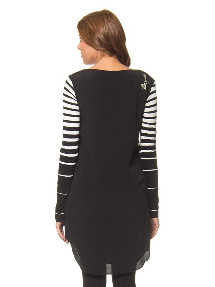 Desigual Kleid Isabella in Schwarz/ Weiß/ Bunt