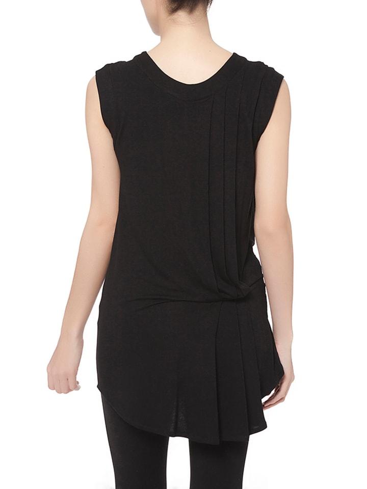 "The Jersey Dress Co. Top ""Hattie"" in Schwarz"