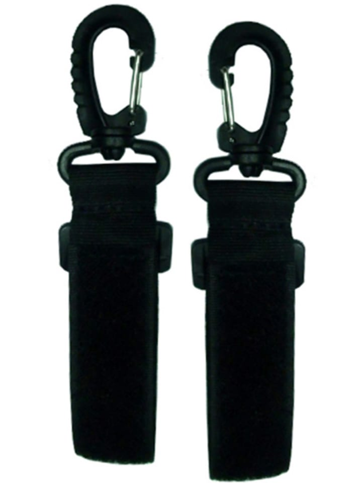 Osann Befestigungshaken für Wickeltaschen in Schwarz