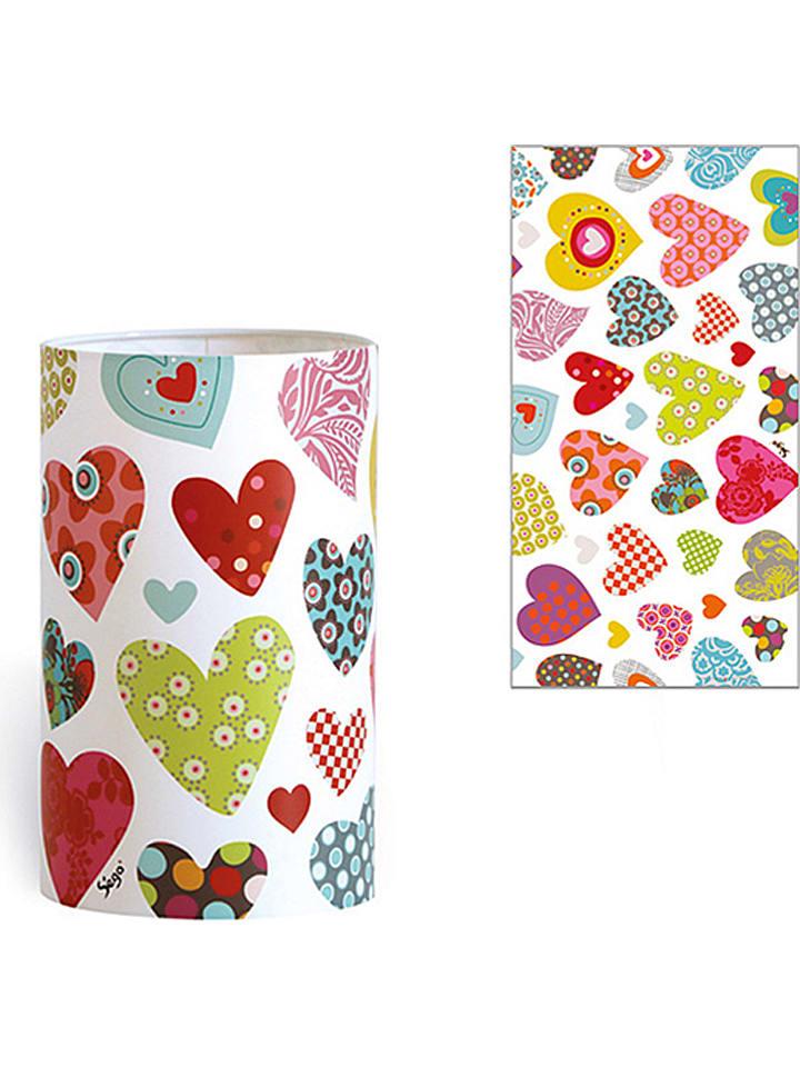 """Série Golo Lampa stołowa """"Hearts"""" - A++ (A++ do B) - wys. 20 cm"""