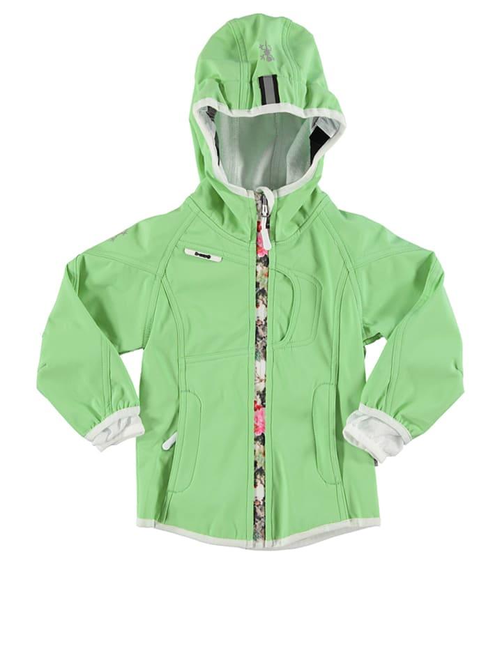 XSExes Kurtka softshellowa w kolorze zielonym