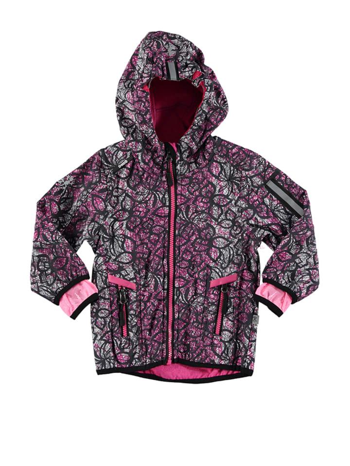 XSExes Softshelljacke in Pink/ Schwarz