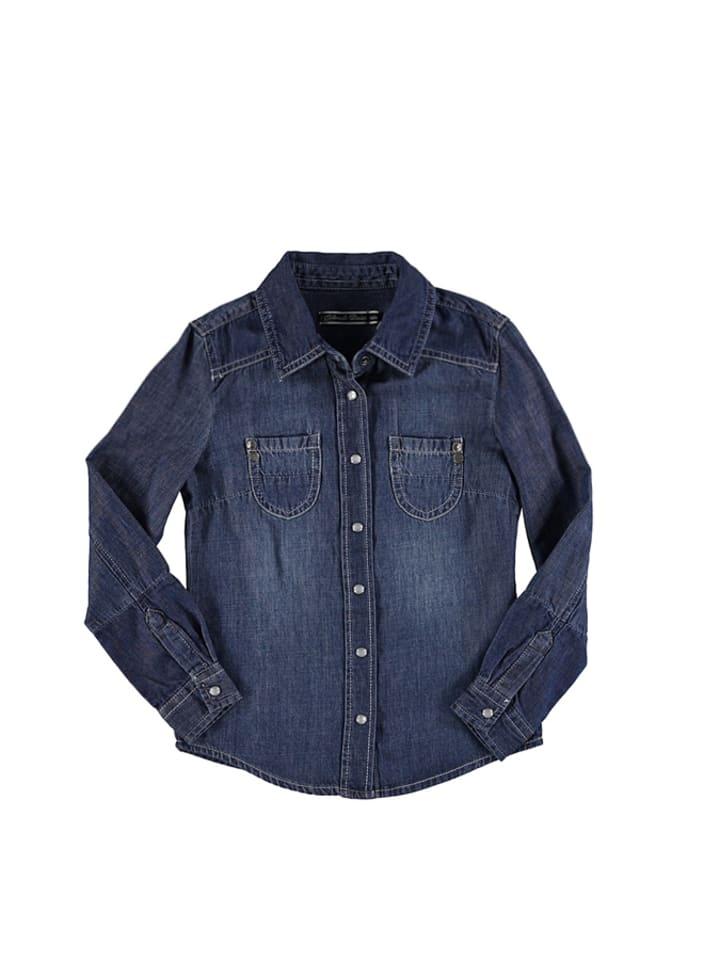 """Colorado Jeans Dżinsowa bluzka """"Dieta"""" w kolorze granatowym"""