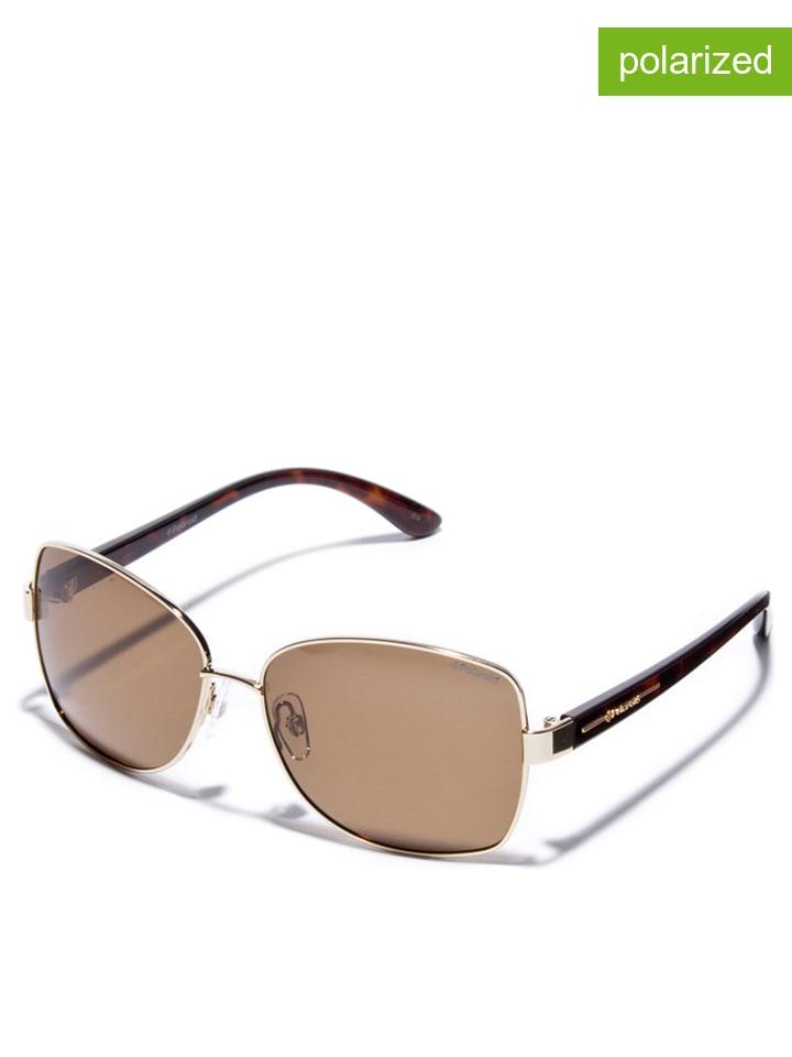 Polaroid Damen Sonnenbrille, Gr. One Size, Braun