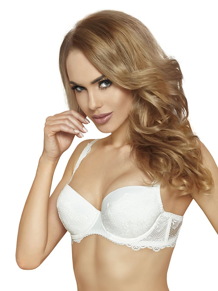 """Fernand Peril Push-up-BH """"Nicole"""" in Creme"""