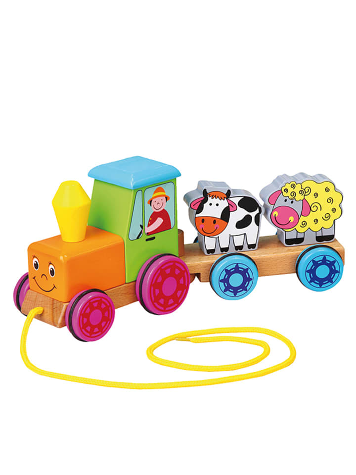Andreu Toys Traktorek na sznurku