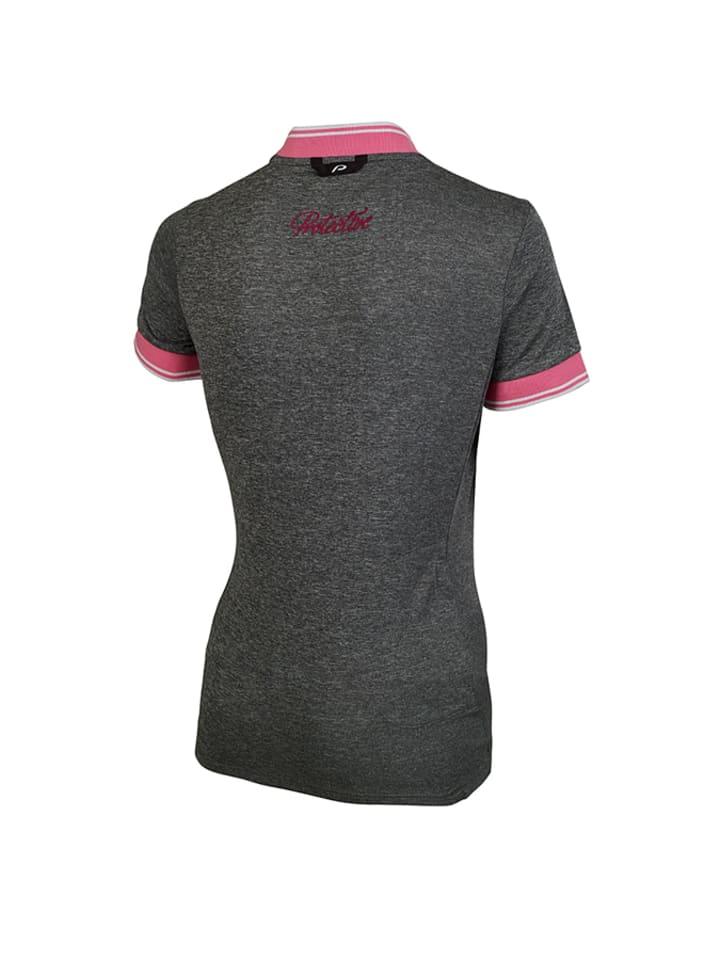 Protective Fahrradtrikot in Grau/ Rosa