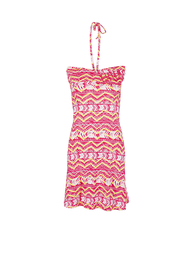 "Chiemsee Kleid ""Indira"" in Pink/ Gelb"