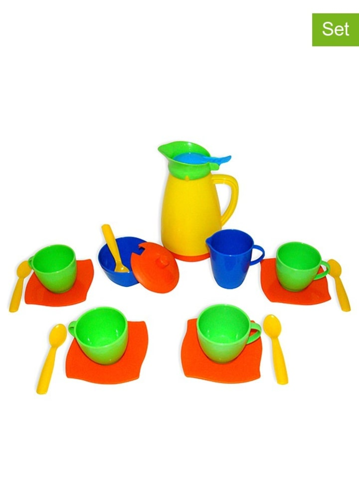 WADER Quality Toys 16tlg. Kaffeeservice - ab 12 Monaten