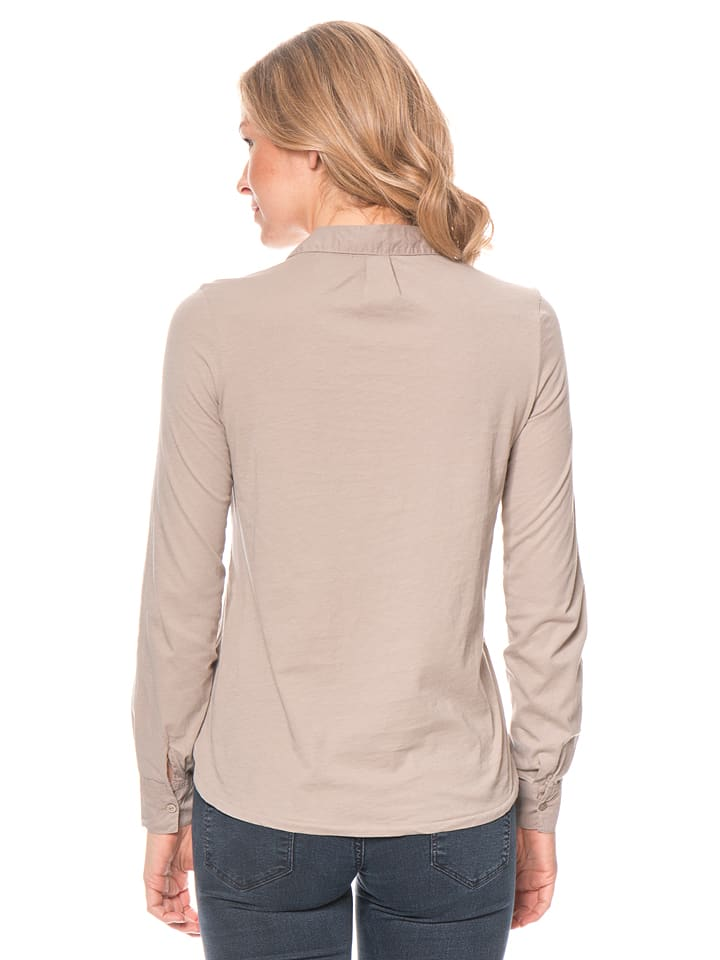 Marc O'Polo Bluse in Taupe