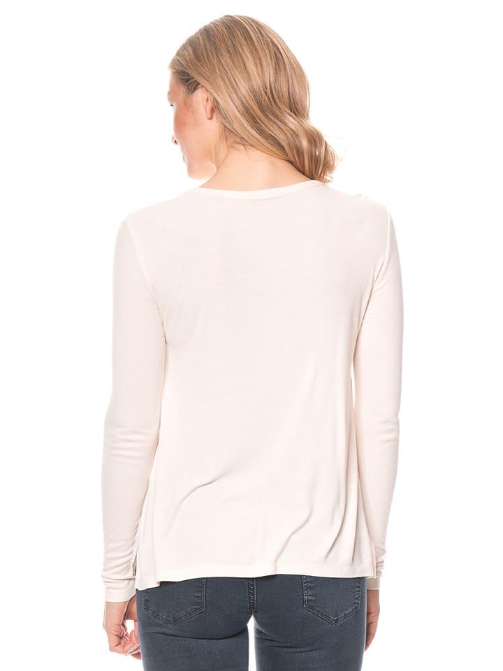 Marc O'Polo Shirt in Weiß/ Creme