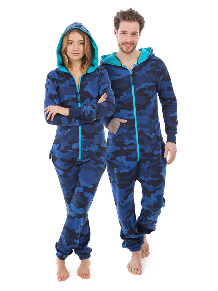 "ZipUps ZipUp ""Camouflage"" in Blau"