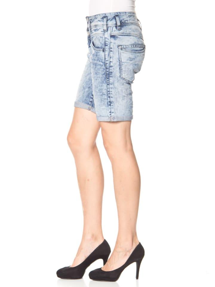 """Herrlicher Jeansshorts """"Raya"""" - Regular fit - in Hellblau"""