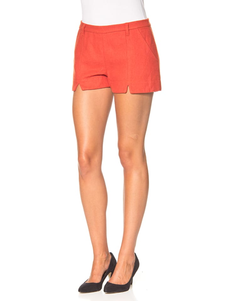 "Blutsgeschwister Shorts ""Break Pants"" in Orange"