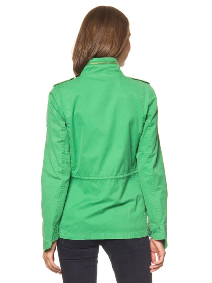 Malvin Jacke in Grün