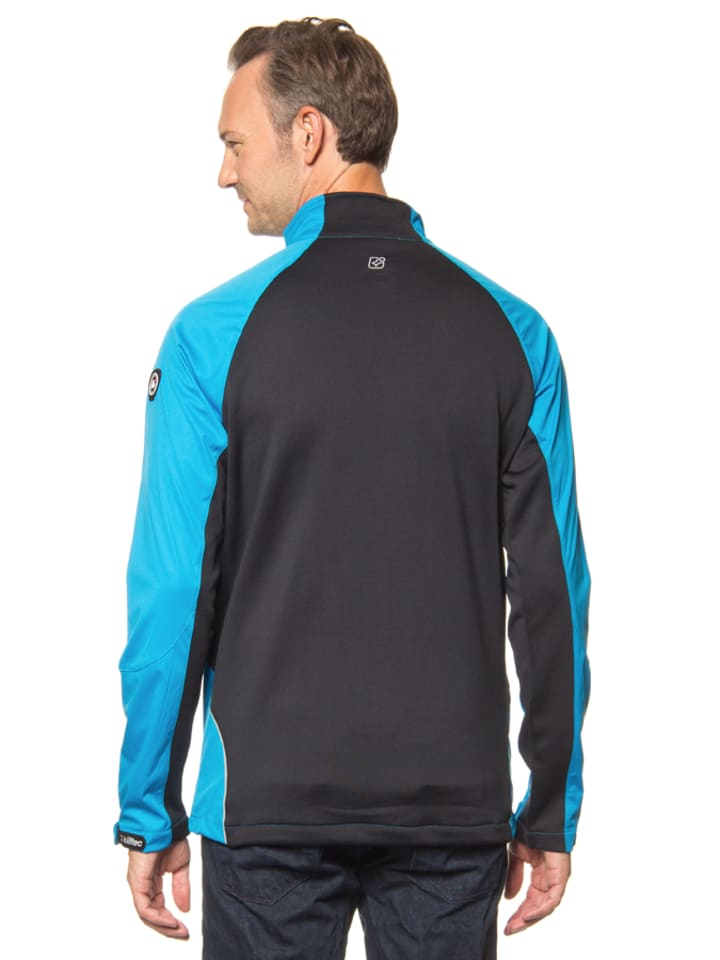 "Killtec Softshelljacke ""Tizin"" in Blau/ Schwarz"