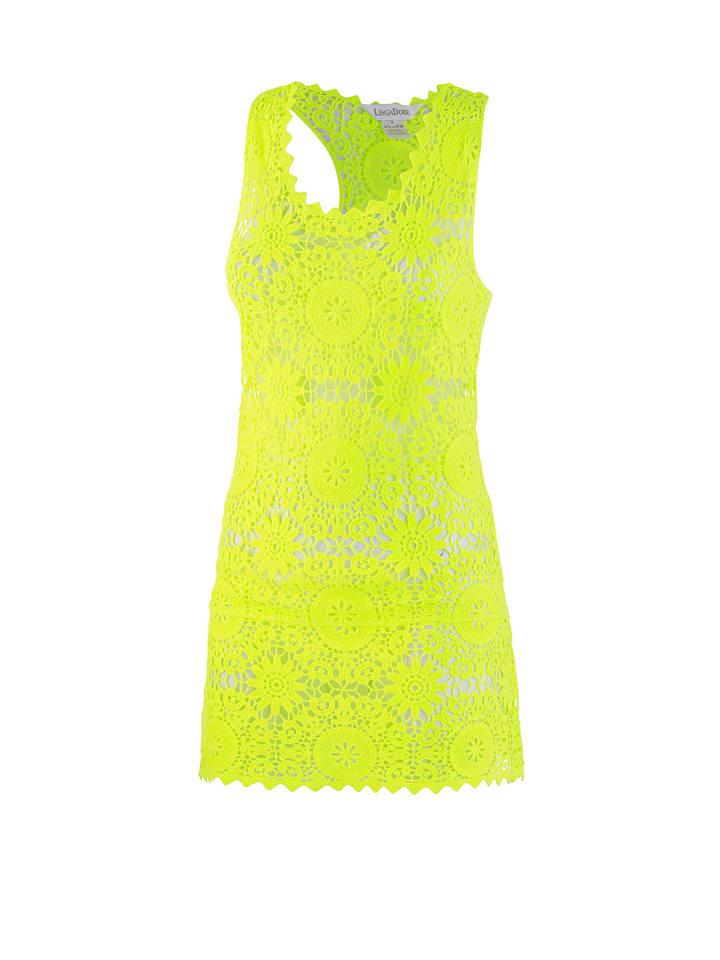 Linga Dore Kleid in Gelb