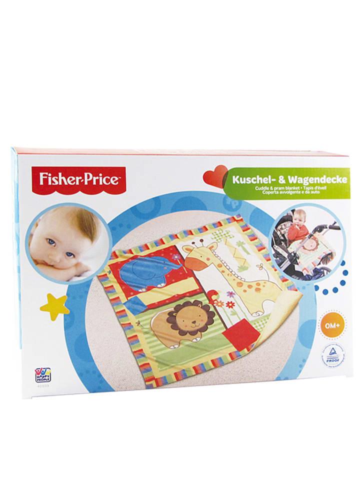 Fisher-Price Deken meerkleurig - (B)78 x (L)78 cm