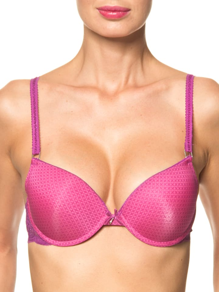 Sassa Push-up-BH in Pink/ Lila