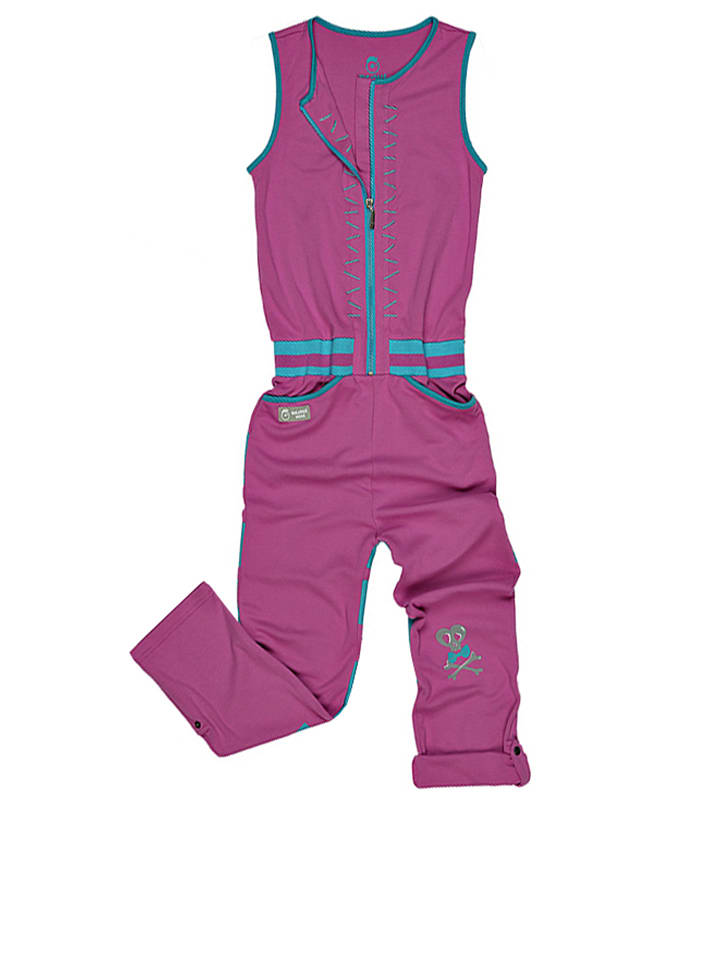 "Vicious Wear Overall ""Pink Hopper"" in Pink/ Hellblau"