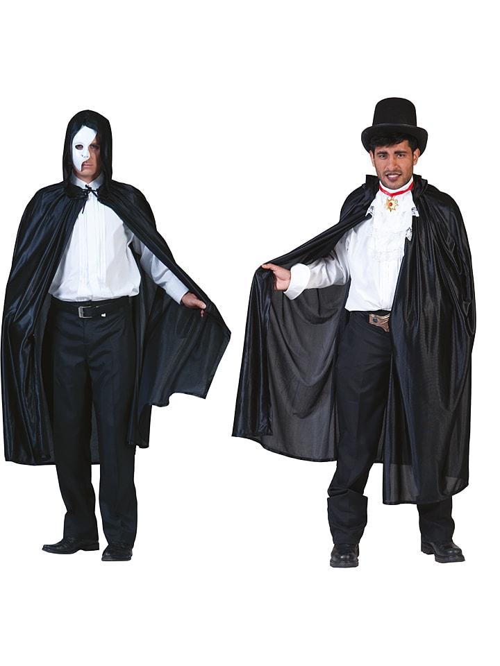 "Funny Fashion Kostümcape ""Shine Black"" in Schwarz"