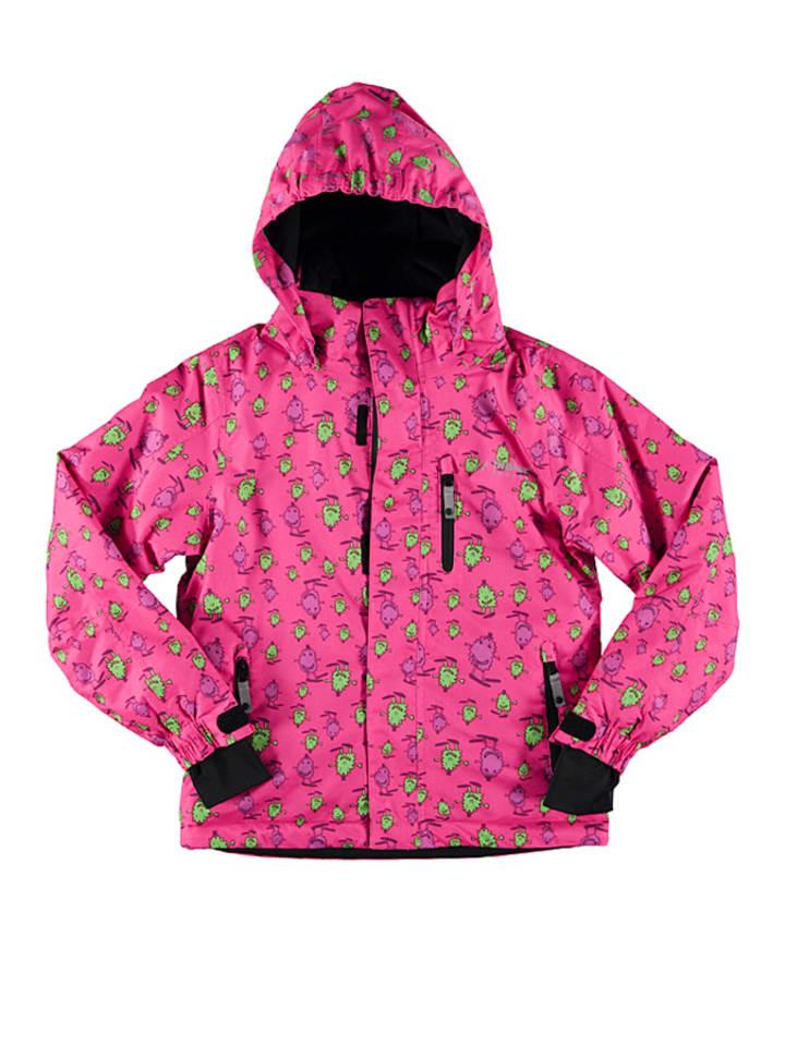 Maier Sports Ski-/ Snowboardjacke Check Boy in Pink