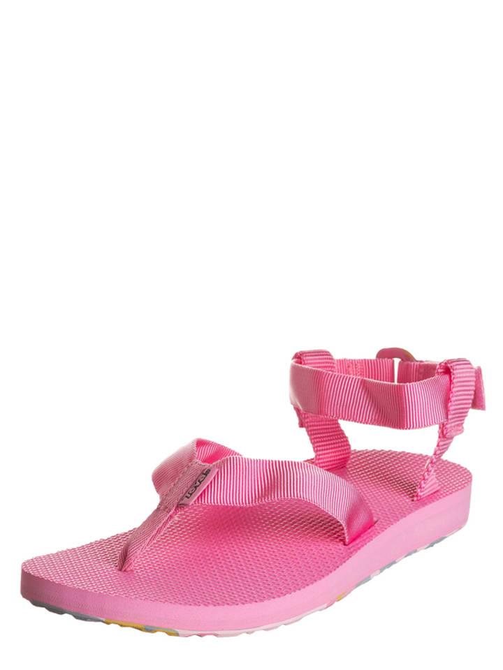 "Teva Zehentrenner ""Marbled"" in Pink"