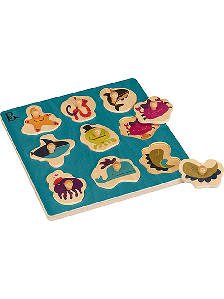 "B.toys Knopfpuzzle ""Underwater""- ab 18 Monaten"