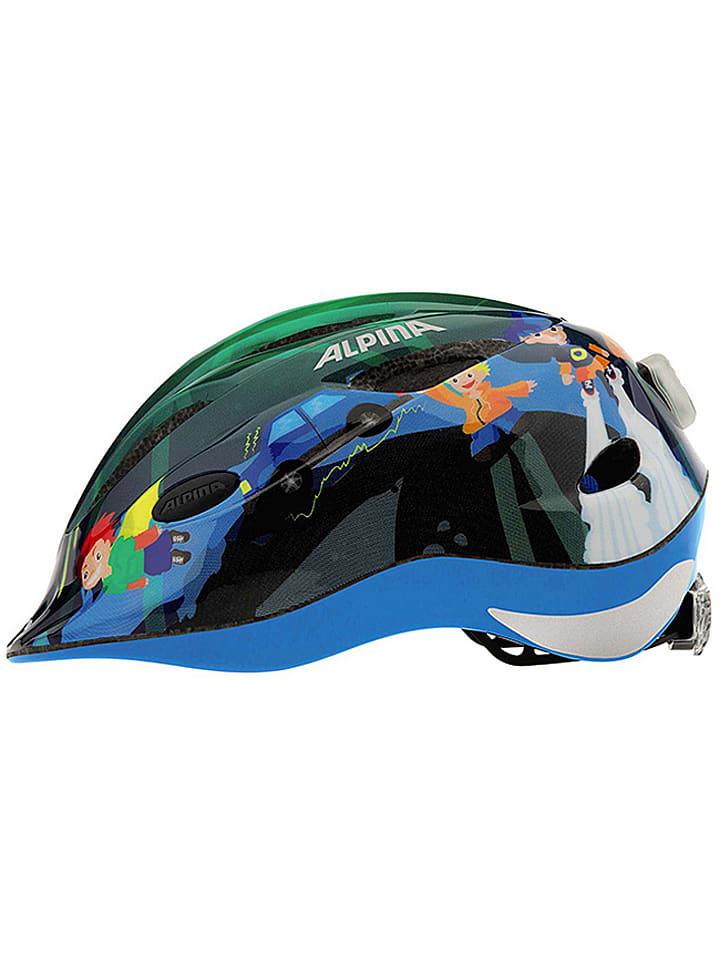 """Alpina Casque de vélo """"Gamma 2.0 Flash"""" - vert foncé/fantaisie"""