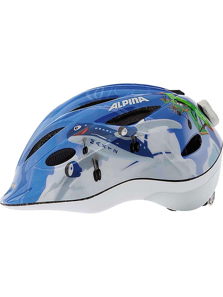 """Alpina Casque de vélo """"Gamma 2.0 Flash"""" - bleu clair/fantaisie"""