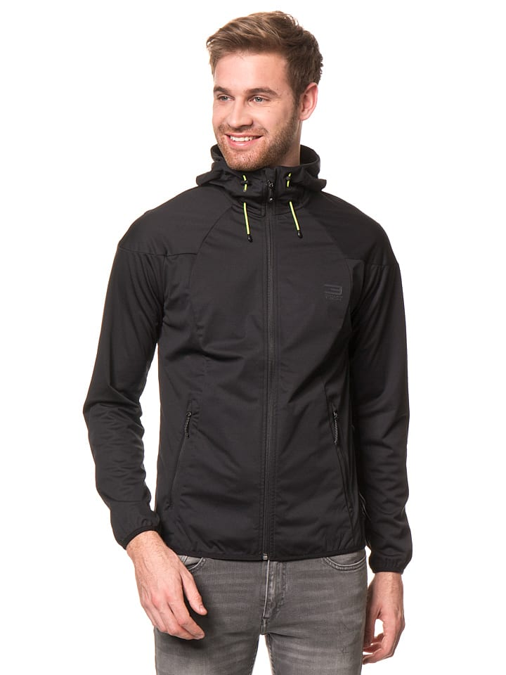 Jack & Jones Funktionsjacke in Schwarz