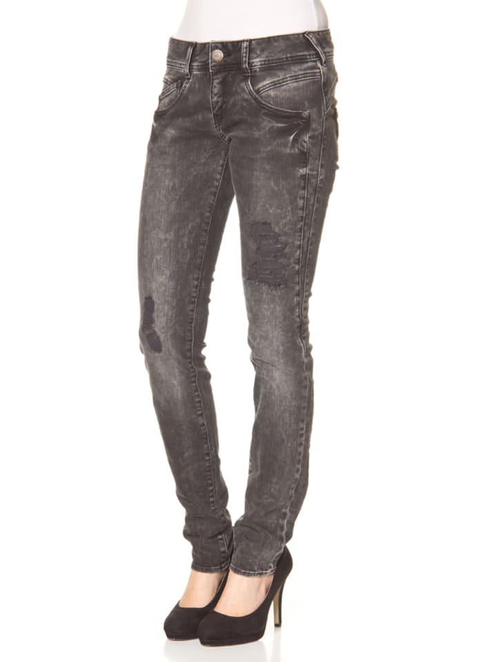 """Herrlicher Jeans """"Gila"""" - Regular fit - in Anthrazit"""