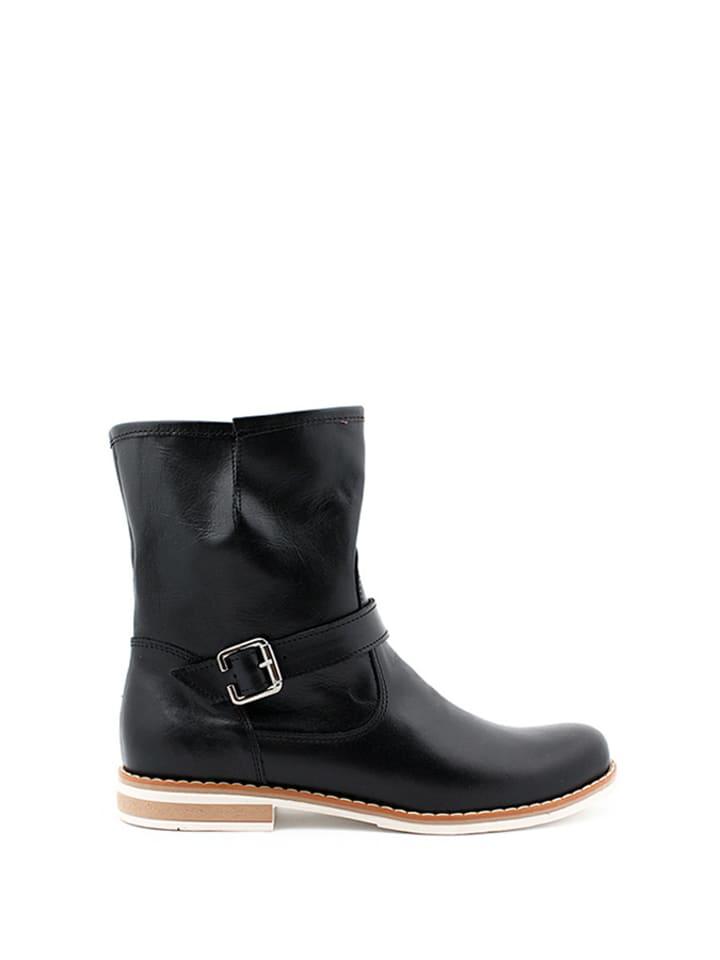 Zapato Leder-Stiefel in Schwarz - 47% KKscg2