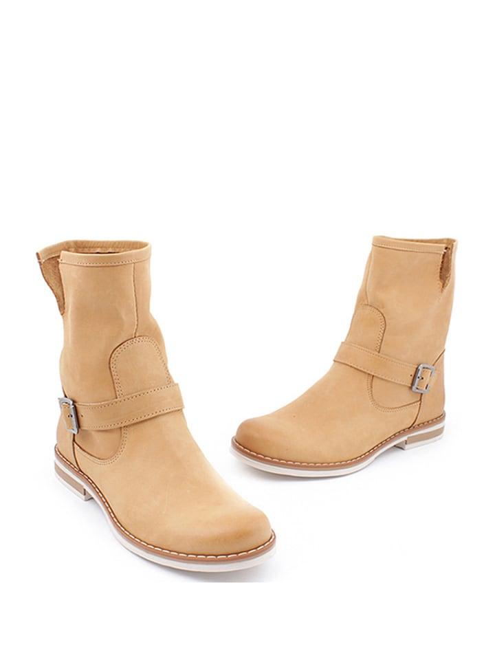 Zapato Leder-Boots in Hellbraun - 67% cj0wVgJ