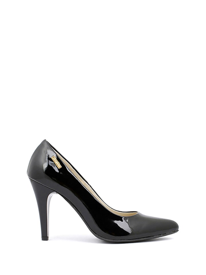 Zapato Leder-Pumps in Schwarz